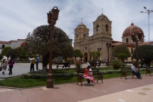 Huancayo, Plaza de la Constitución