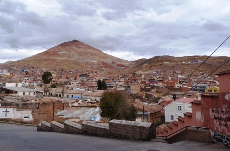 Potosi i Cerro Rico - góra z kopalnią