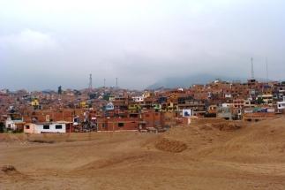 Biedniejsze okolice Limy