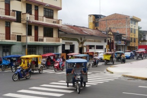 Iquitos, moto-taxis