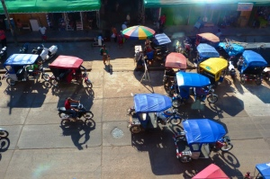 Miasto moto-taxi