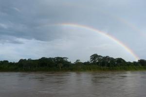 Tecza nad Amazonka
