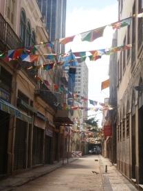 Puste ulice Rio