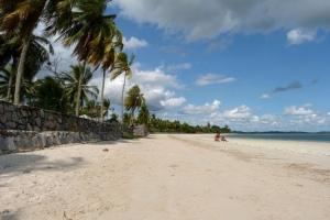 Puste plaze w brazylijskim stanie Bahia