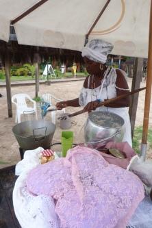 Baiana sprzedajaca acaraje