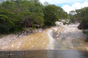 Chapada Diamantina, waterslides