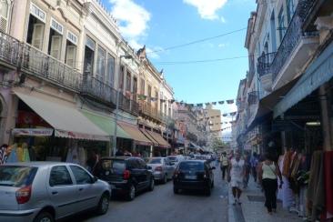 Dzielnica Saara, centrum Rio de Janeiro