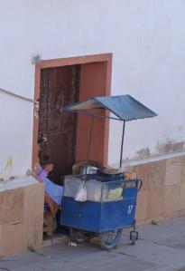 W Boliwii bez problemu kupimy jedzenie na ulicy ;)