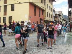 Cajamarca, Carnaval, pintura 3