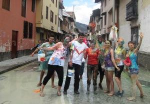 Cajamarca, Carnaval, pintura