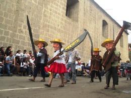 Karnawał w Cajamarce, parady (14)