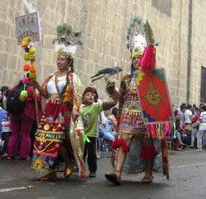 Inkascy władcy w czasie karnawału