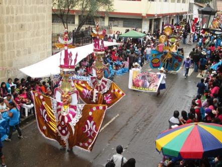 Karnawał w Cajamarce, parady
