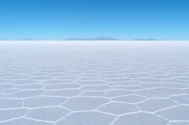Duże wysokości - Salar de Uyuni