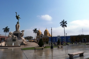 Trujillo, Plaza de Armas