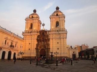 Lima, kościół świętego franciszka