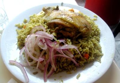 Potrawy peruwianskie_Arroz con pollo