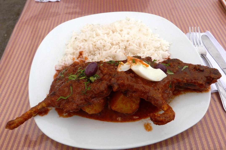 Peruwiańskie Potrawy Czyli Surowe Ryby świnki Morskie I Ryż Z