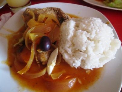 Potrawy peruwianskie_Escabeche de pescado
