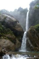 Wodospad w Machay