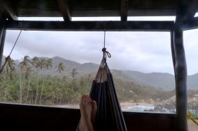 Sama w podróży w Kolumbii