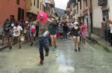Cajamarca Peru Karnawal