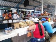 Ekwador Otavalo targ