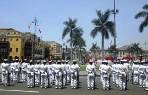 Lima, parada na Plaza Mayor