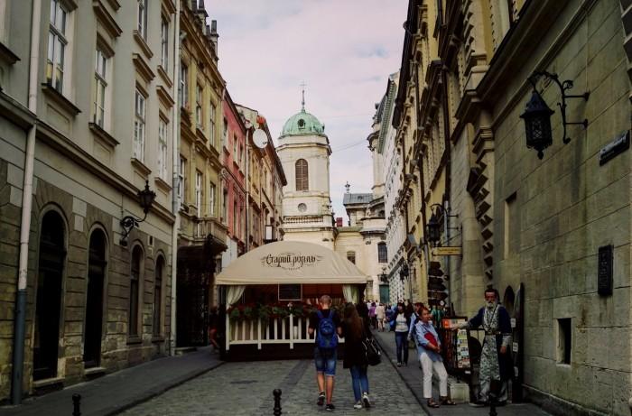 Lwów, uliczki