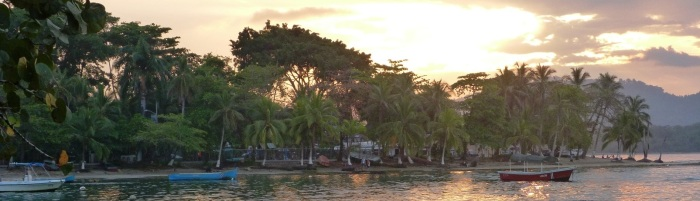 Kostaryka Puerto Viejo — panorama