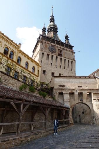 Wieża zegarowa i wejście do Cytadeli