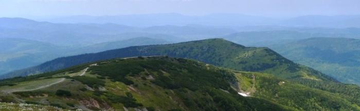 Babia Góra, panorama
