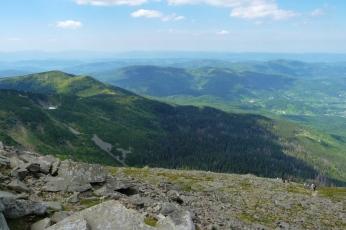 Babia Góra, widok