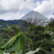 Widoki na Arenal z Cerro Chato