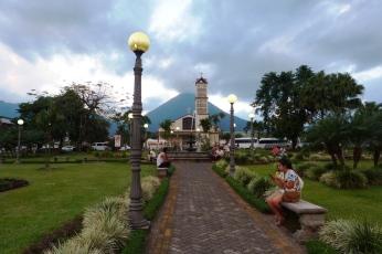 Główny plac La Fortuna