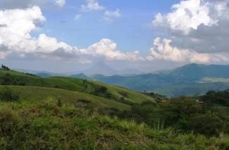 W drodze z Monteverde do La Fortuna