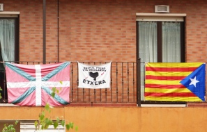 Kraj Basków, Katalonia, flagi