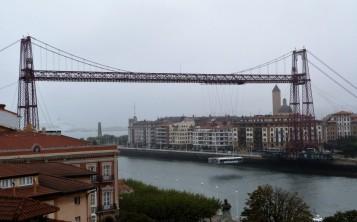 Portugalete, Kraj Basków, most wiszący