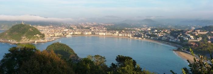 San Sebastian, panorama