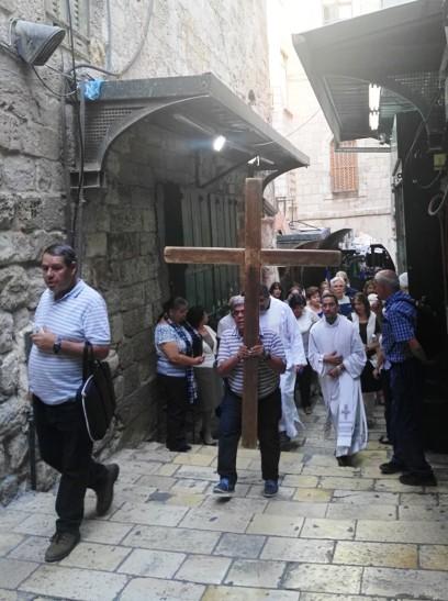 Droga Krzyżowa w Jerozolimie