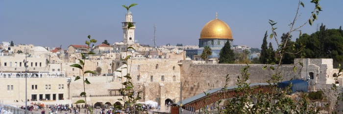 Jerozolima, widok na miasto — kopia
