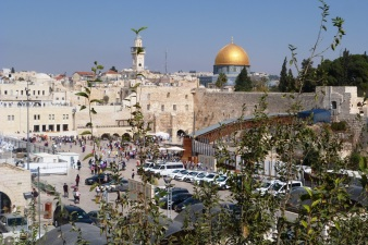 Jerozolima, widok na miasto