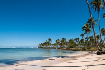 Na Dominikanie znajdziemy puste plaże...