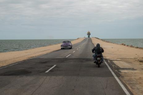 Wjazd na Cayo Coco