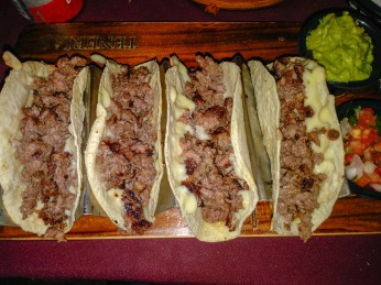 I obowiązkowe tacos!
