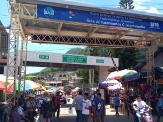 Granica z Gwatemalą...