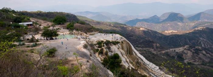 Oaxaca Hierve el Agua panorama