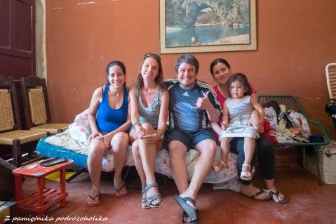 I typowa paragwajska rodzinka