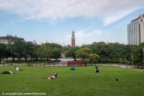 Widok na Torre Monumental