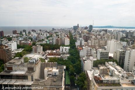 Widok z Intendencia de Montevideo